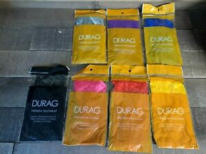 Premium Silky Satin Durag Men/'s Cap Hat Doo Rag Biker Smooth Head Wrap  Unisex