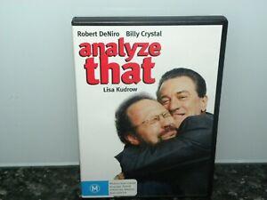 Analyse-That-REGION-4-DVD-VGC