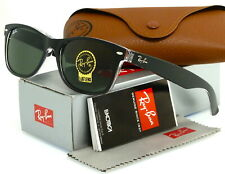 Ray-Ban RB2132 6052 55-18 Men's New Wayfarer Sunglasses - Black