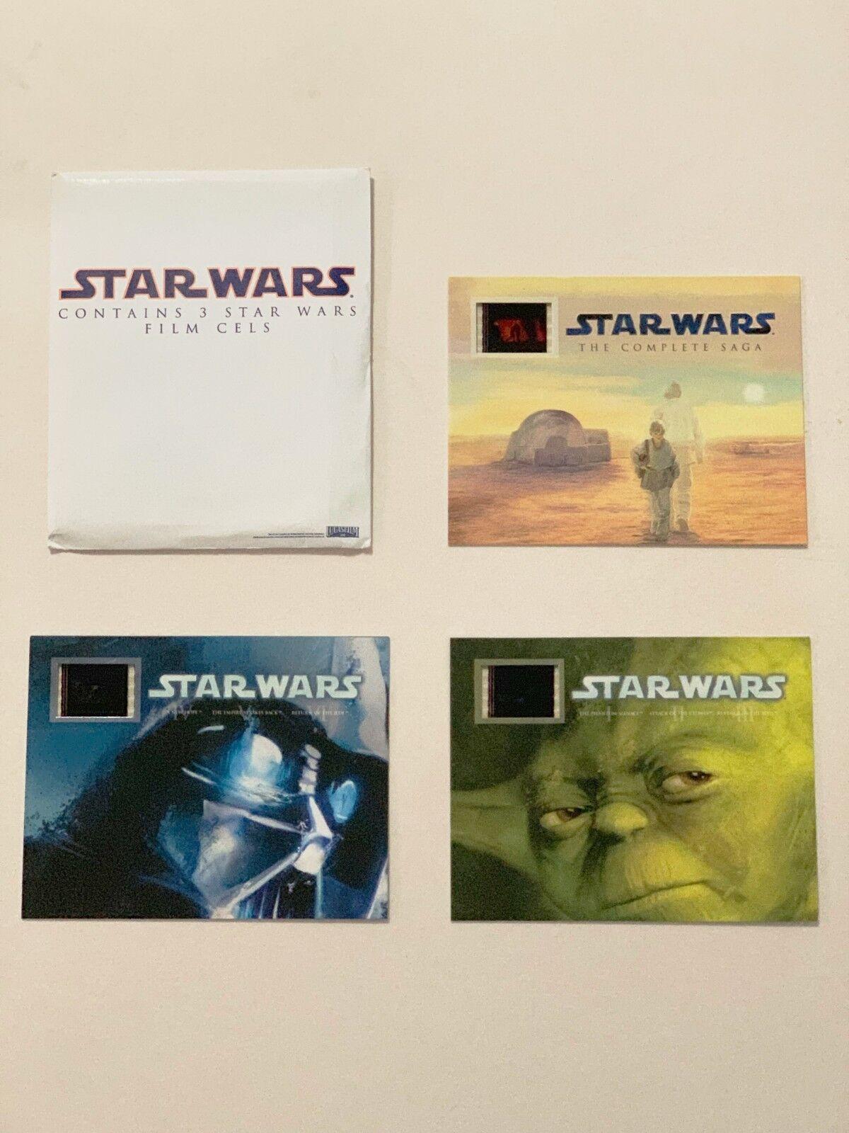 Star Wars Saga - Original Film Cells - RARE