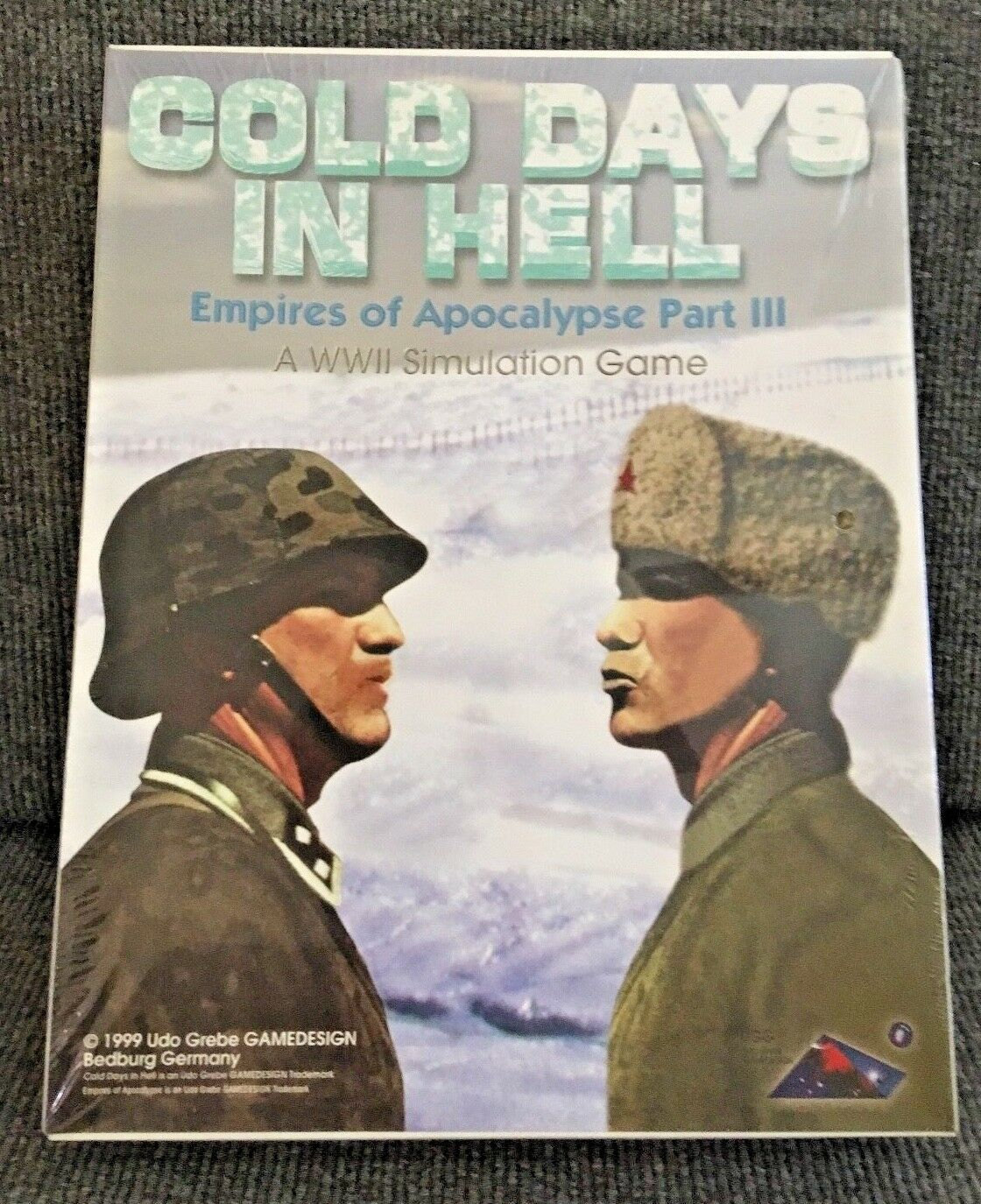 Board Game Cold Days in Hell WWII Empires of Apocalypse Factory Sealed