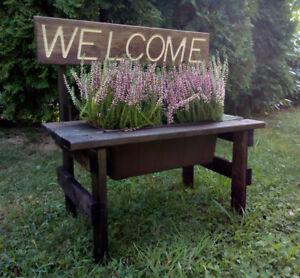 Terrific Details About Decorative Bench Flower Planter Pot Garden Yard Garden Outdoor Decor Andrewgaddart Wooden Chair Designs For Living Room Andrewgaddartcom