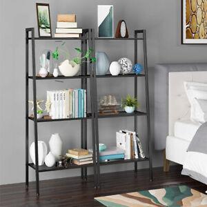 4-Tiers-Ladder-Shelf-Storage-Unit-Nordic-Industrial-Bookshelf-Flower-Plant-Stand