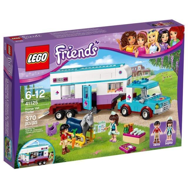 LEGO Friends Horse Vet Trailer 41125 - retired