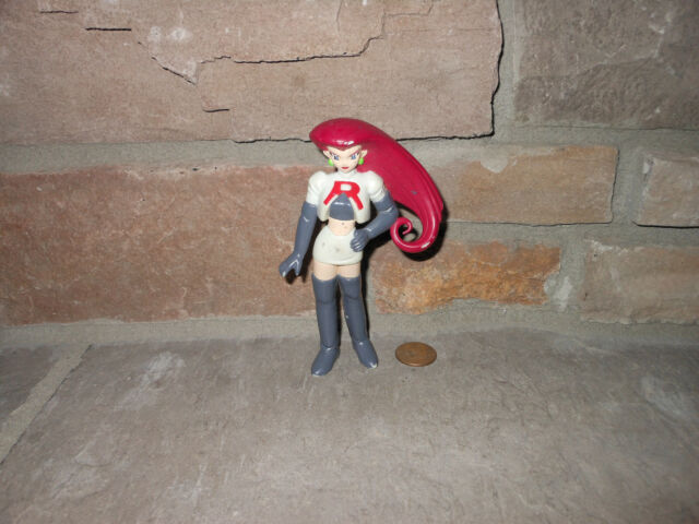Pokemon Tomy original Team Rocket Jessie figure