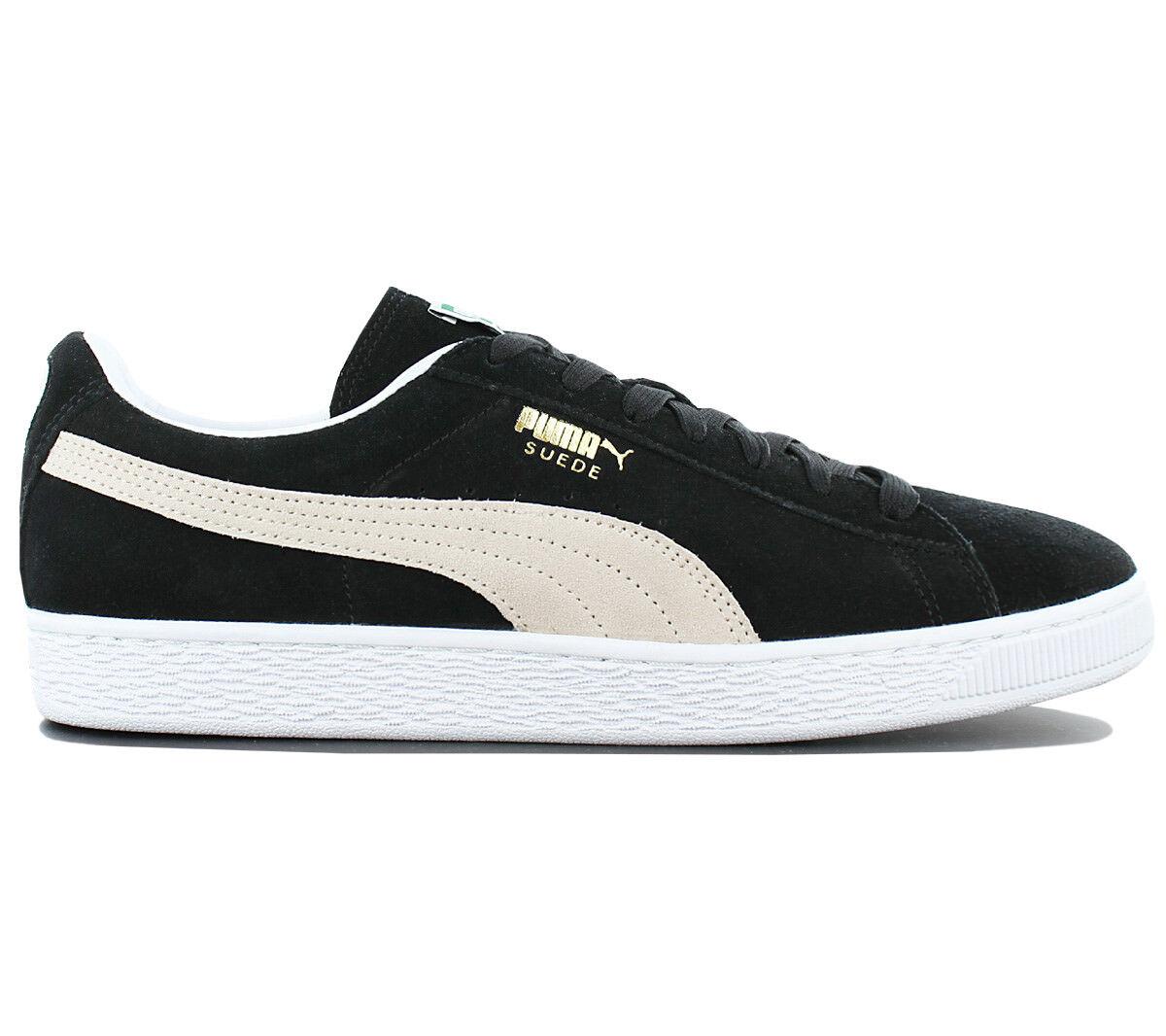 Puma Suede Classic Herren Schuhe Sneaker Schwarz Wildleder Turnschuhe 352634-03