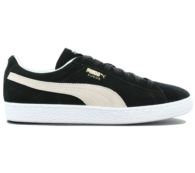 544e3086ffd5 PUMA Suede Classic Eco Black White Mens Trainers 11 for sale online ...