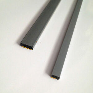 Fire Door Strips >> Details About Intumescent Fire Door Strip Seals Single Door Set Grey