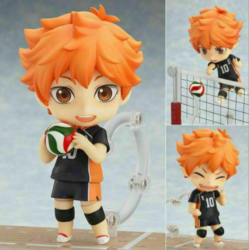 Shoyo Hinata PVC Figure Anime Toy Gift No Box Nendoroid 461 Haikyuu!