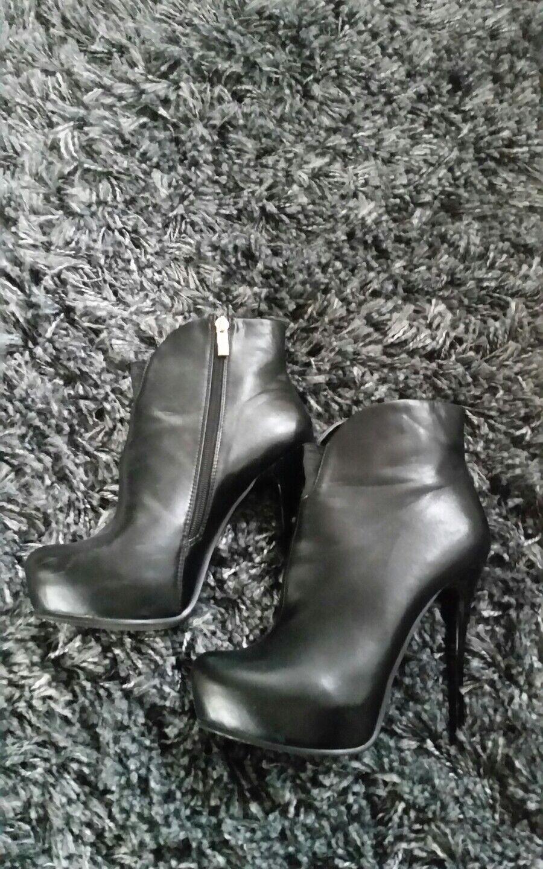 Stiefelette High heels Gr. 39 Coco Coco Coco California schwarz 0715ed