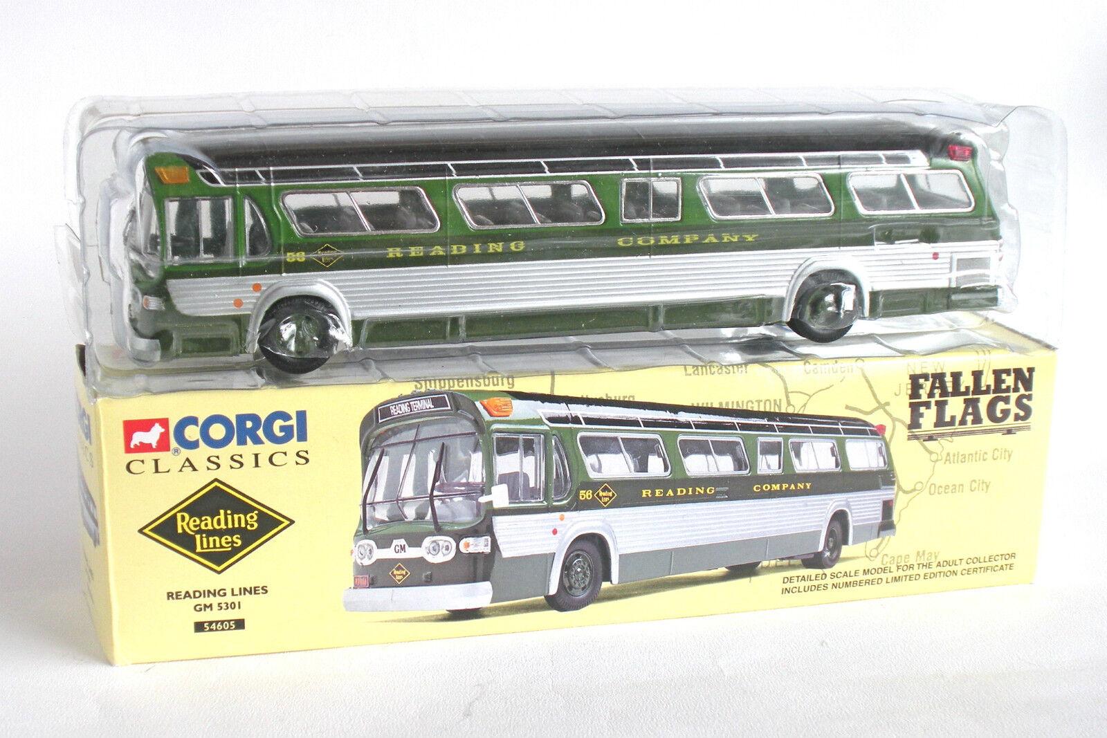 CORGI CLASSICS 54605 READING LINES FISHBOWL GM 5301 - New Boxed