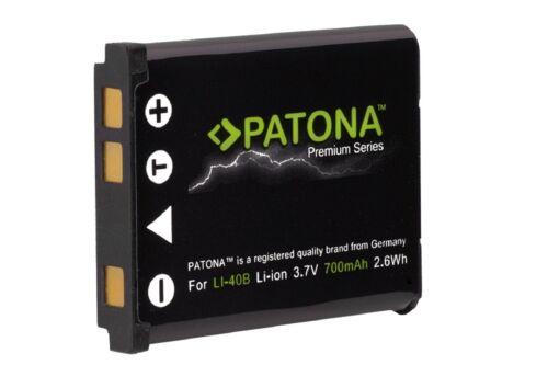 np-45a Premium batería patonas para para Fuji Fujifilm np-45