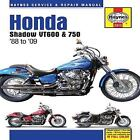 Haynes Service & Repair Manual: Honda Shadow VT600 and 750 1988 To '09 by Max Haynes (2010, Hardcover)