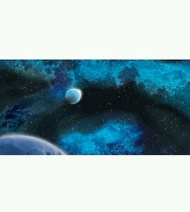 """Gale Force 9 Space Station Moon Game Mat 36/"""" x 36/"""""""