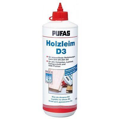 (11,95€/1kg) PUFAS Holzleim D 3 1 kg