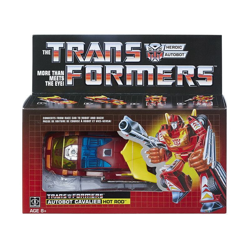 Transformers G1 Reissue Autobot Cavalier Hot Rod Walmart Limited Edition Mint