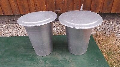 maple syrup aluminum sap buckets  lids covers+taps spiles   # 0001