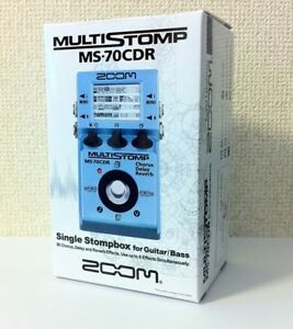 new zoom ms 70cdr multi effect stomp pedal from japan 884354011673 ebay. Black Bedroom Furniture Sets. Home Design Ideas