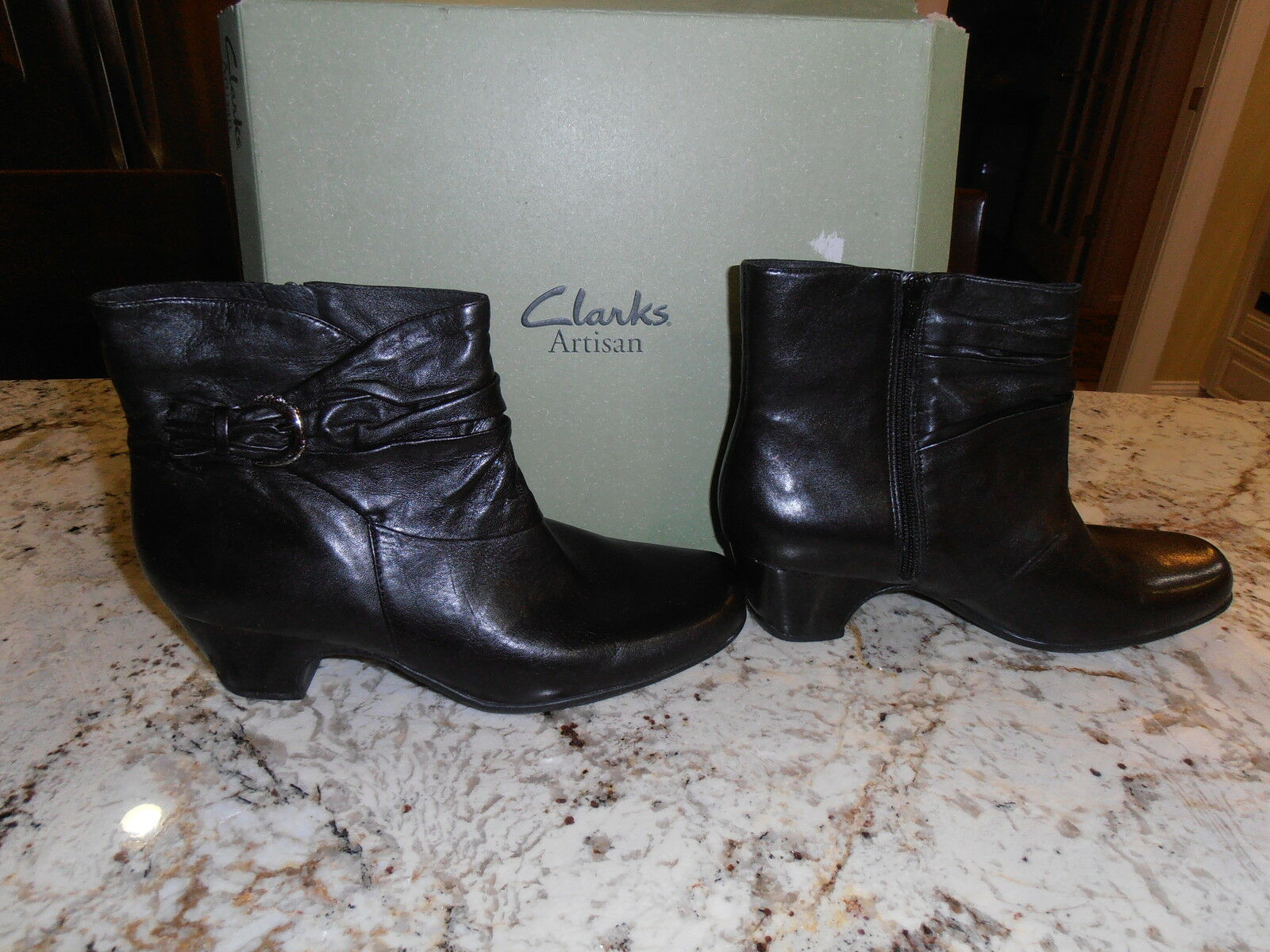 Para Mujer Clarks Artisan Leyden Crest Negro botas 11 M M M  comprar mejor