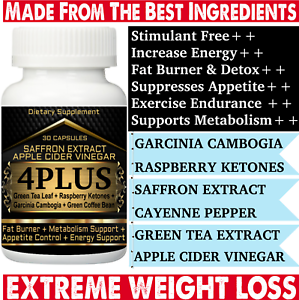 4plus Garcinia Cambogia Apple Cider Vinegar Green Tea