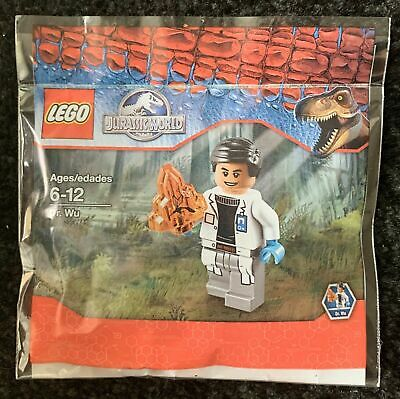 5000193818-Polybag-exclusive USA PROMO 2015 Dr Wu LEGO ® Jurassic World ™