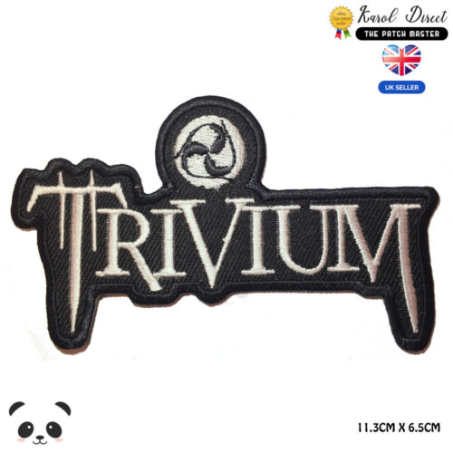Trivium Music Band Embroidered Iron On Sew On PatchBadge For Clothes etc