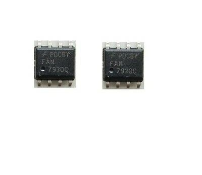 5PCS PFC CCM 0.5/-0.8AController IC FAN7930C SOP8 SMD New