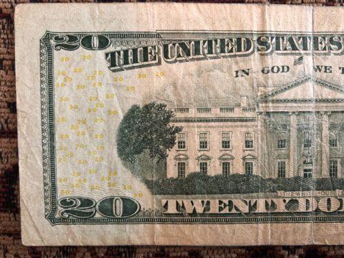 RARE 2004-A $20 TWENTY DOLLAR BILL STAR ✯ NOTE ATLANTA FRB GF 01307950 ✯
