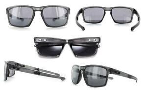 Oakley Sliver F Sunglasses OO9246-02 Matte Grey Ink Frame W  Black ... 8a7fef510e