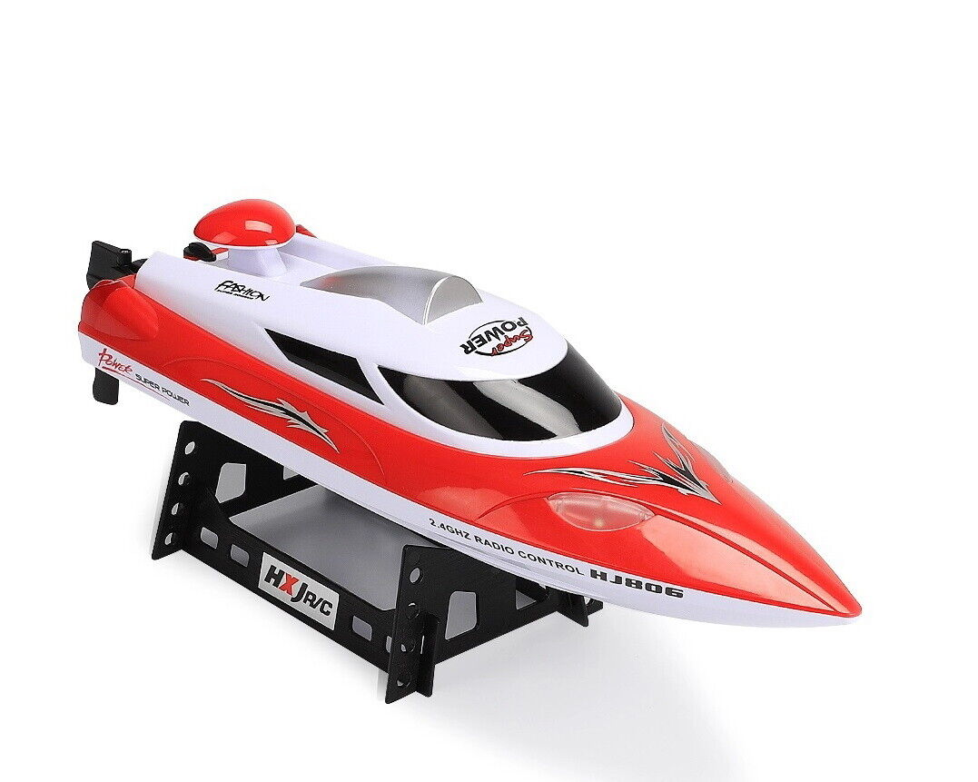 HJ806 47cm 2.4G RC 35km h High Speed  Racing Flipped Boat Night Light  negozio di vendita outlet
