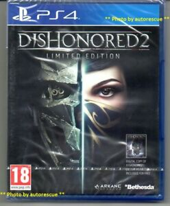 Dishonored-2-Limited-Edition-inc-DIGITAL-IMPERIAL-ASSASSIN-039-s-PACK-039-New-039-PS4