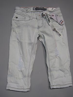 Genial Blue Rebel Mädchen Capri Jeans Cropped 7142013 Gr. 116 - 176 Sale - 45 %