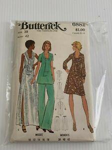 Vintage-6882-Butterick-The-Fashion-Uno-Patron-de-Costura-Talla-38-Busto-107cm
