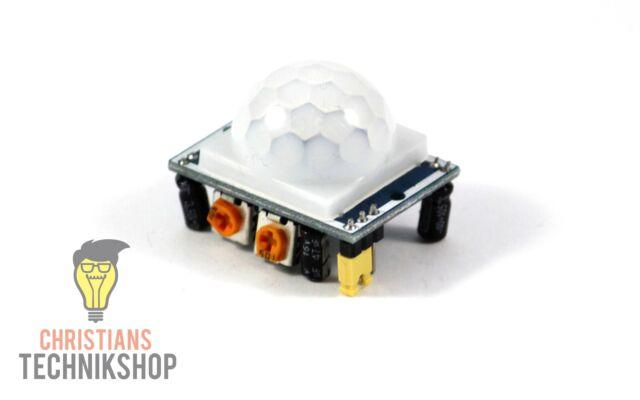 HC-SR501 PIR Infrarot-Modul / Bewegungsmelder-Sensor für Arduino & Raspberry Pi