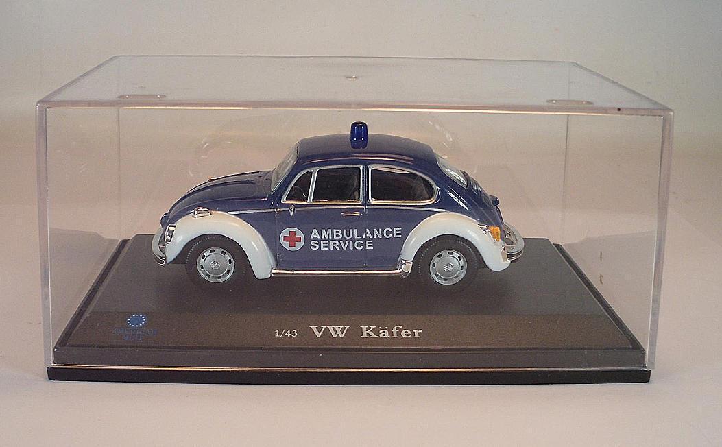 Willoughby's Model Cars 1 43 VW VW VW Volkswagen Käfer 1302 Beetle Ambulance OVP  3064 e07b3c