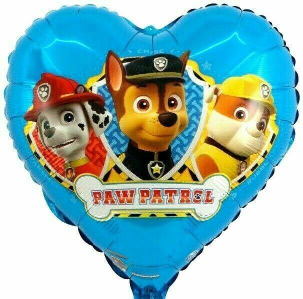 "*2 x 18/"" Square Paw Patrol Dog Foil Helium Air Party Balloons Birthday Marshall*"