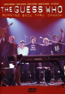 The-Guess-Who-Running-Back-Thru-Canada-New-DVD-Canada-Import