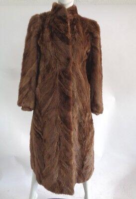 Mint /& Super Soft Plain Arctic Beaver Fur Coat Jacket Women Woman Size 6 Small