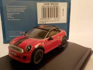 Mini-Coupe-Red-Model-Cars-Oxford-Diecast