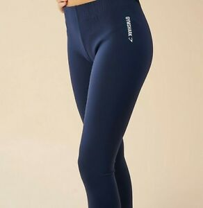 21a737d0f4082 Gymshark Ark Jersey Leggings Sz Small New With Tags Sapphire Blue | eBay