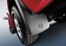 NEW! 09-18 Dodge Ram 1500 Mopar Molded Splash Guards Mud Flaps - Front & Rear