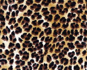 Leopardo Tela Calidad Tapicería Cortina Y Artesanía Tela.