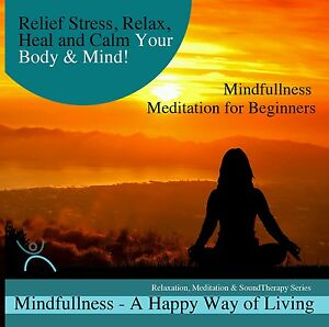 4x-MINDFULLNESS-MEDITATIONS-ON-1-CD-FOR-STRESS-RELIEF-CALMING-BODY-MIND-NEW