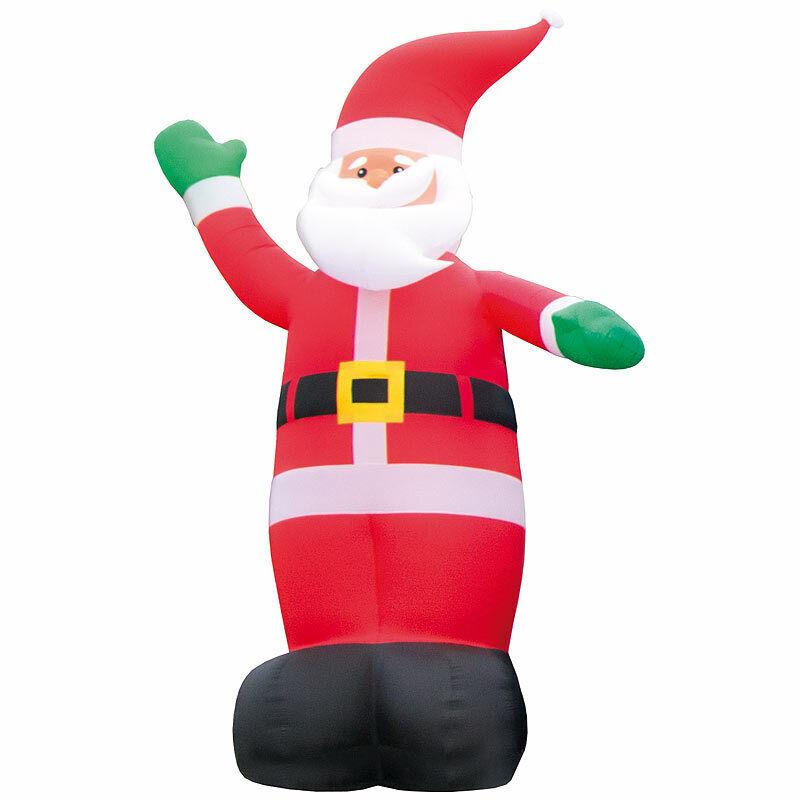 Nikolaus  Selbstaufblasender XXL-Weihnachtsmann, XXL-Weihnachtsmann, XXL-Weihnachtsmann, 6 m ca7471