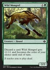 4x Cagnaccio Selvaggio - Wild Mongrel MTG MAGIC DD3 Duel Decks, Anthology Eng