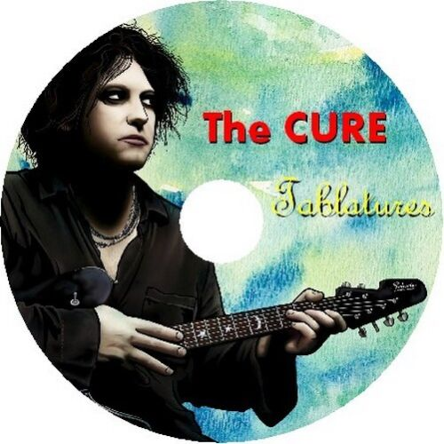 THE CURE BASS /& GUITAR TAB CD TABLATURE BEST OF GREATEST HITS ROCK MUSIC SONG
