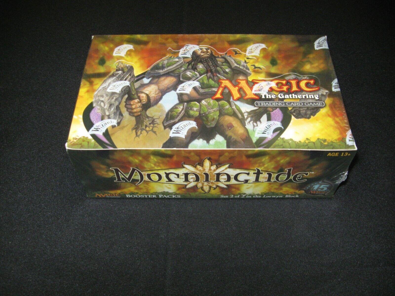 magi MTG Morningtide Booster låda Factory förseglad engelska