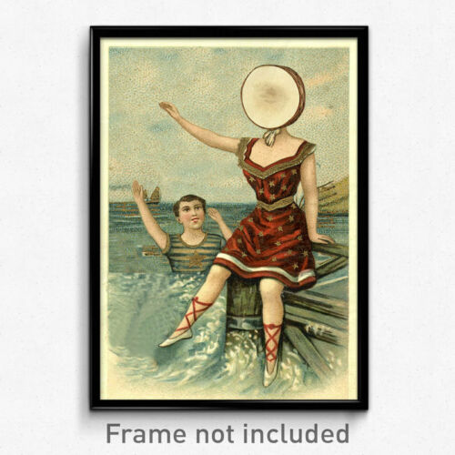 In the Aeroplane Over the Sea Print Neutral Milk Hotel 11x17 Poster