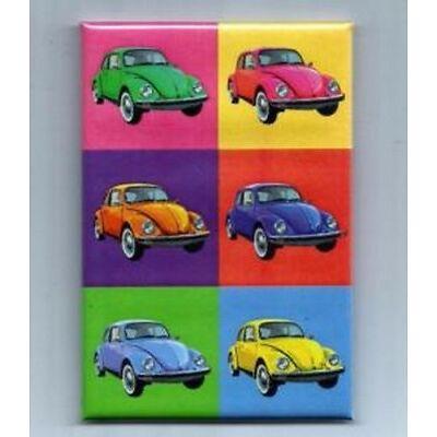 VW VOLKSWAGEN BEETLE cox coccinelle 5,5 x 8 cm