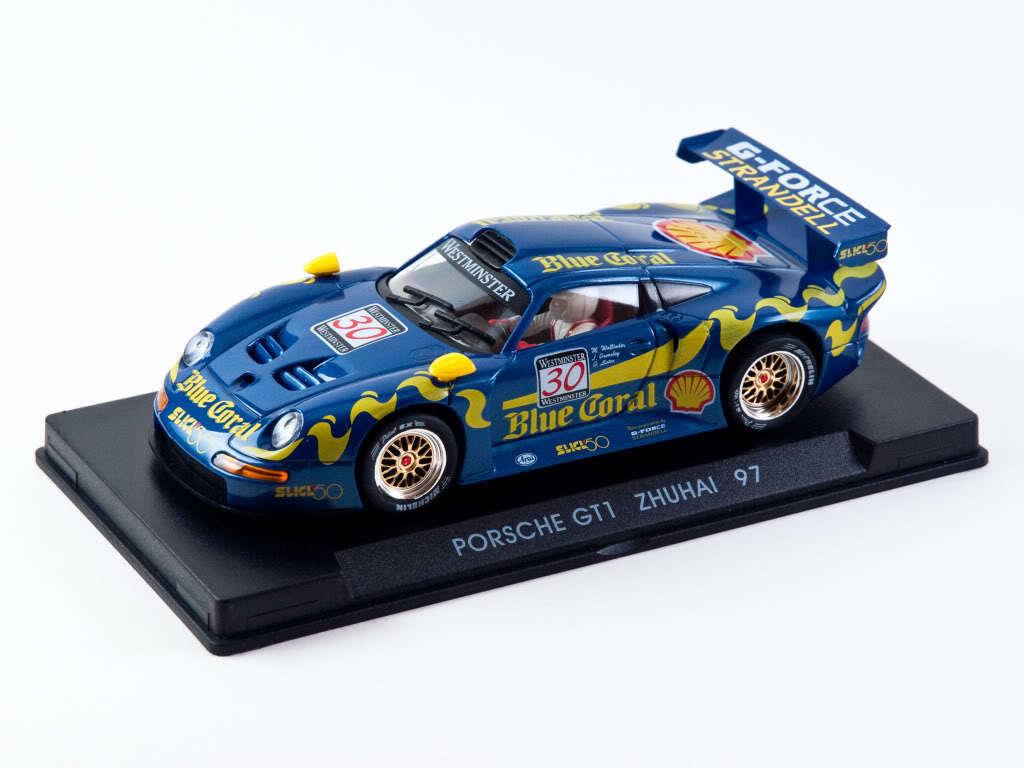 Fly Porsche GT1 Zhuhai 1997 bluee Coral (A37) - MIB